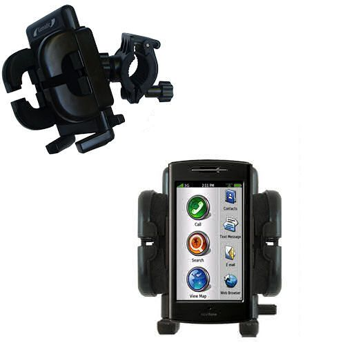 Handlebar Holder compatible with the Garmin Nuvifone G60