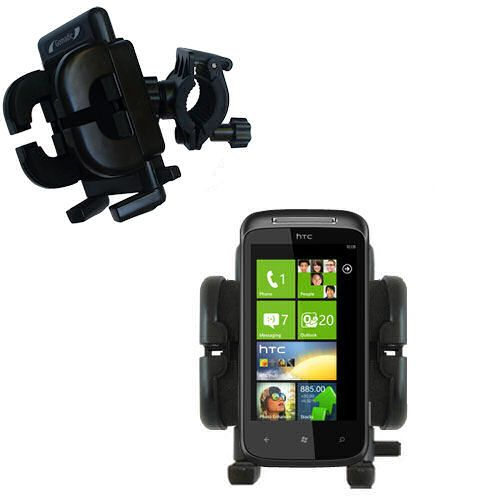Handlebar Holder compatible with the HTC 7 Mozart