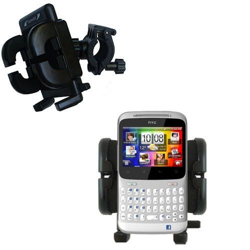 Handlebar Holder compatible with the HTC ChaCha