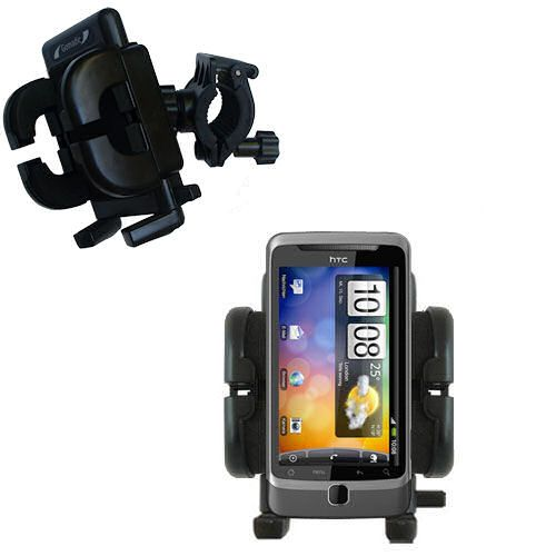 Handlebar Holder compatible with the HTC Desire Z