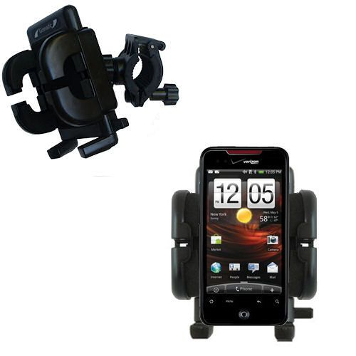 Handlebar Holder compatible with the HTC DROID Incredible