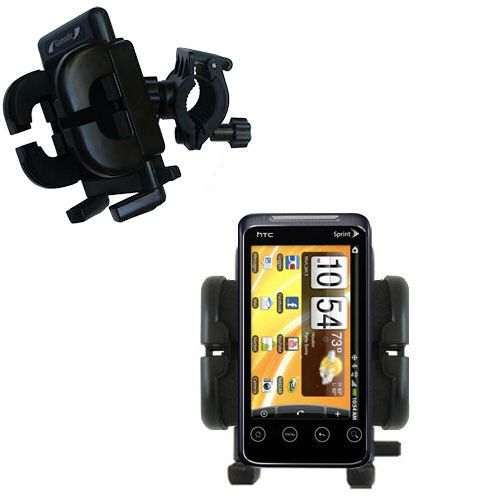 Handlebar Holder compatible with the HTC Evo Shift 4G