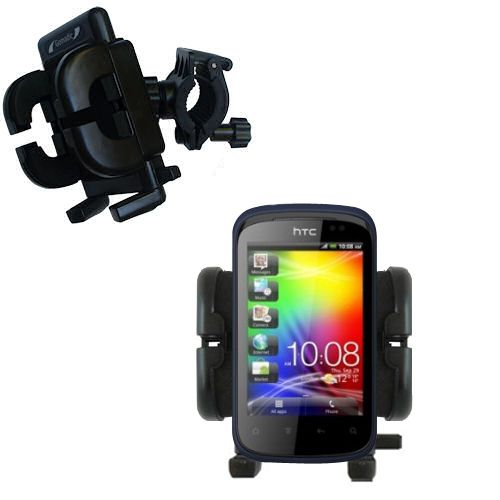Handlebar Holder compatible with the HTC Explorer