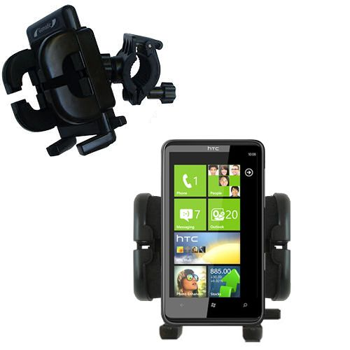 Handlebar Holder compatible with the HTC HD7S
