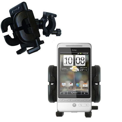 Handlebar Holder compatible with the HTC Hero 4G