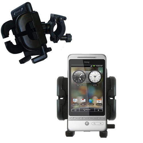 Handlebar Holder compatible with the HTC Hero S