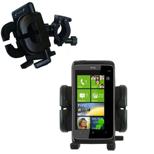 Handlebar Holder compatible with the HTC Mazaa