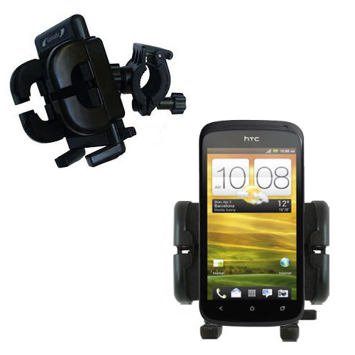 Handlebar Holder compatible with the HTC One S / Ville
