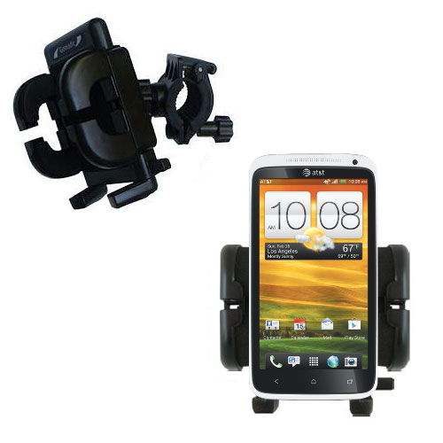 Handlebar Holder compatible with the HTC One X