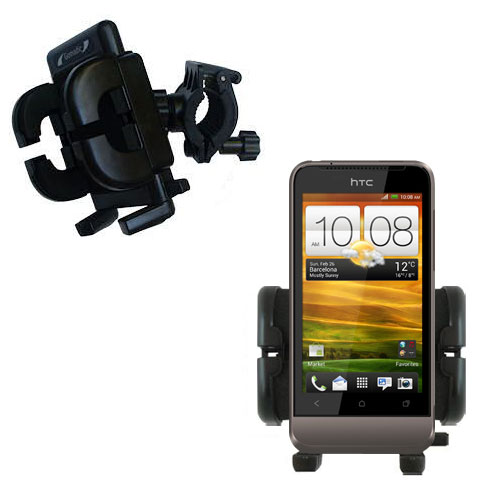 Handlebar Holder compatible with the HTC Primo / T320e