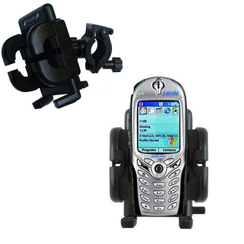 Handlebar Holder compatible with the HTC Tanager Smartphone