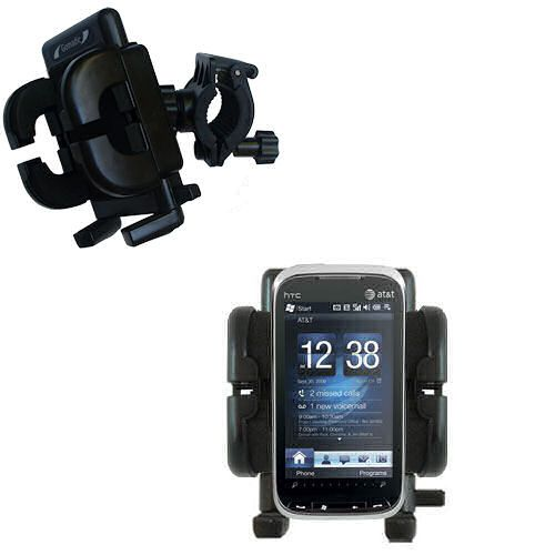 Handlebar Holder compatible with the HTC Tilt2