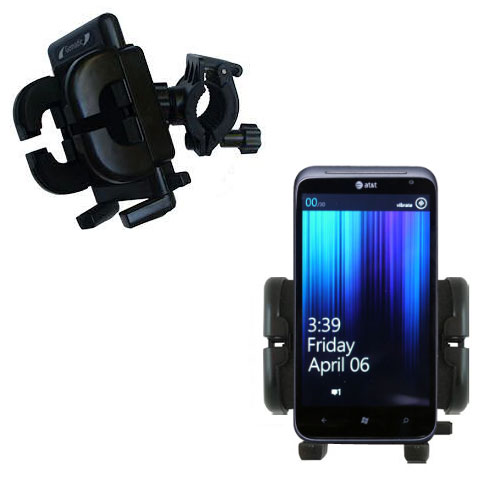 Handlebar Holder compatible with the HTC Titan II