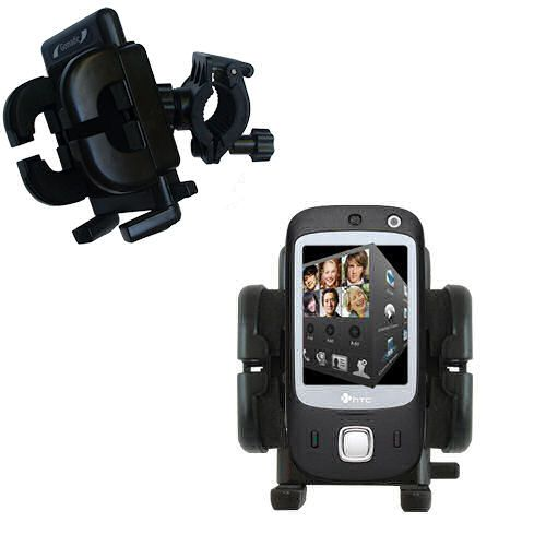 Handlebar Holder compatible with the HTC Touch Dual