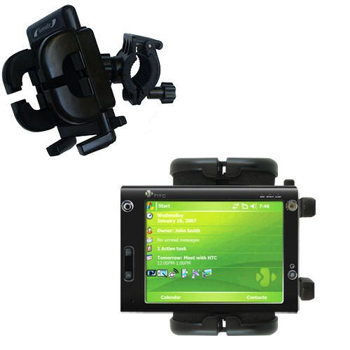 Handlebar Holder compatible with the HTC X7500