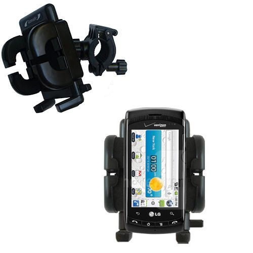 Handlebar Holder compatible with the LG Ally