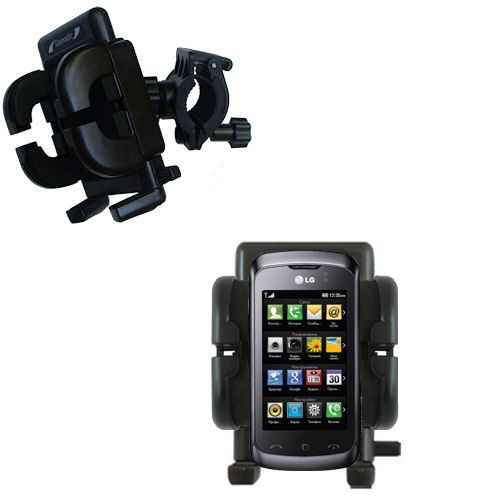 Handlebar Holder compatible with the LG Clubby