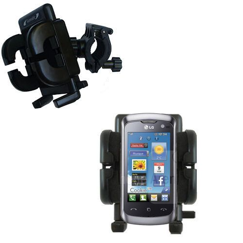 Handlebar Holder compatible with the LG Cookie Live