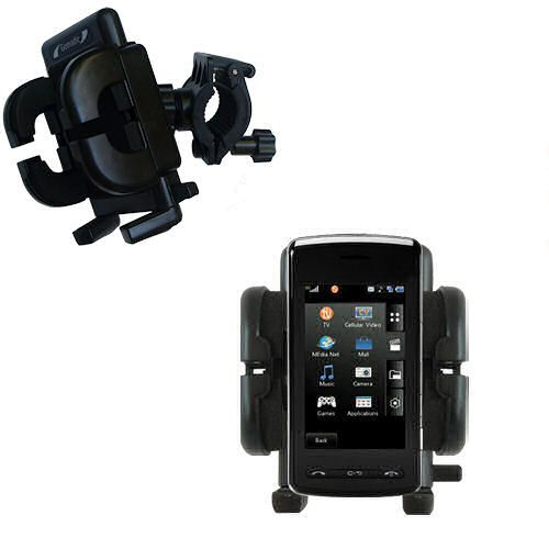Handlebar Holder compatible with the LG CU920