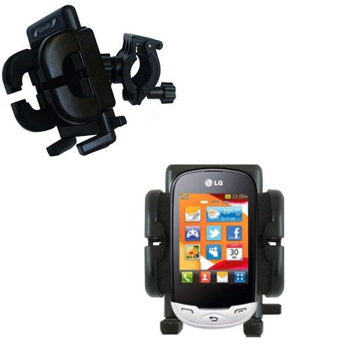 Handlebar Holder compatible with the LG EGO Wi-Fi