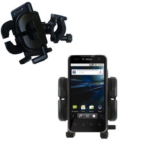 Handlebar Holder compatible with the LG G2x