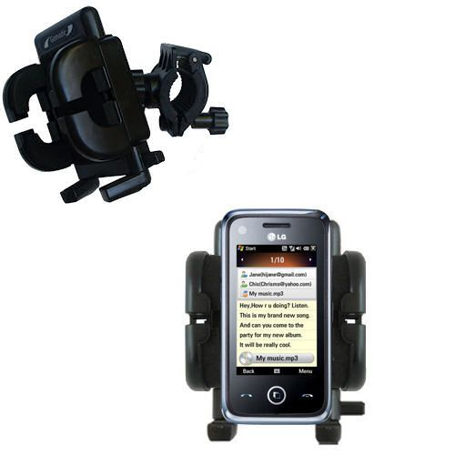 Handlebar Holder compatible with the LG GM730
