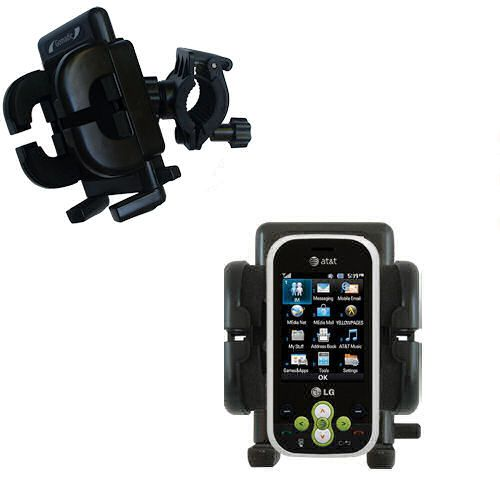 Handlebar Holder compatible with the LG GT365