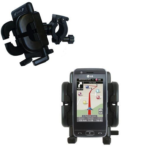 Handlebar Holder compatible with the LG GT505