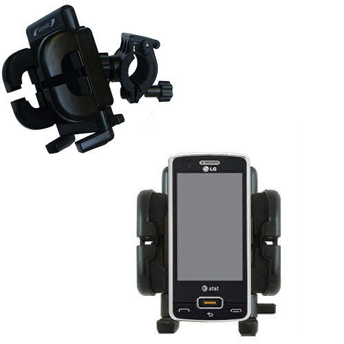 Handlebar Holder compatible with the LG GW820 eXpo