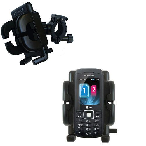 Handlebar Holder compatible with the LG GX300