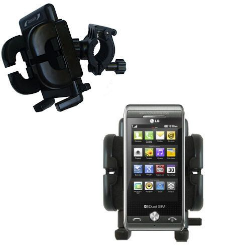Handlebar Holder compatible with the LG GX500