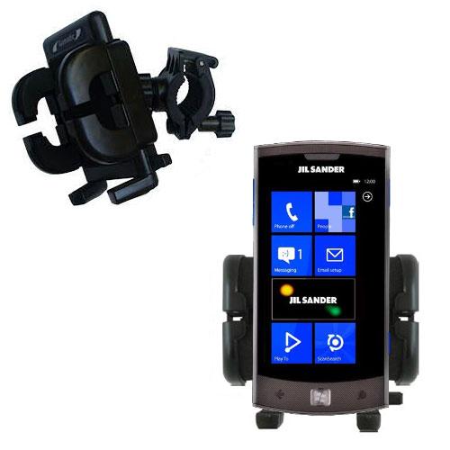 Handlebar Holder compatible with the LG Jil Sander