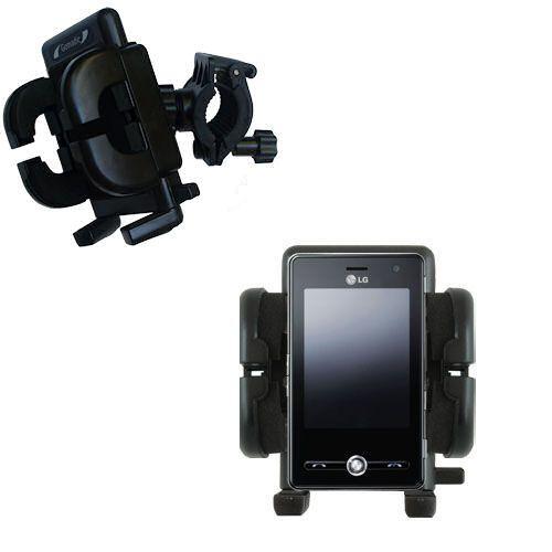 Handlebar Holder compatible with the LG KS20