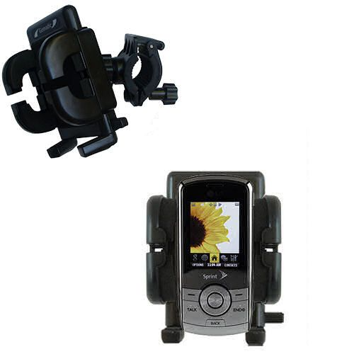 Handlebar Holder compatible with the LG LX370