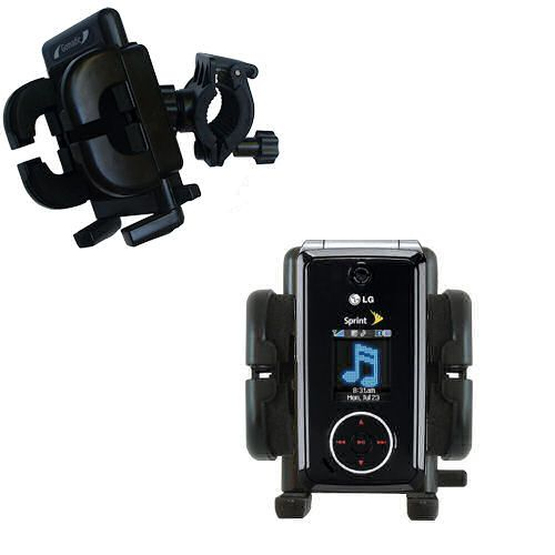Handlebar Holder compatible with the LG LX570 / LX-570