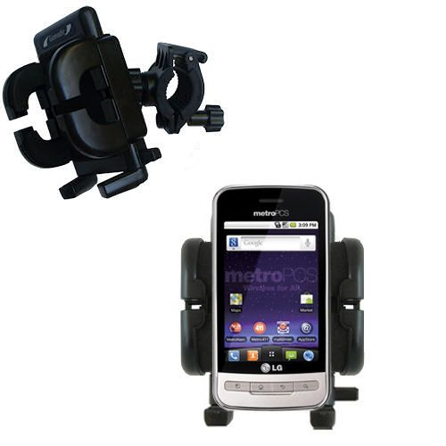 Handlebar Holder compatible with the LG MS690