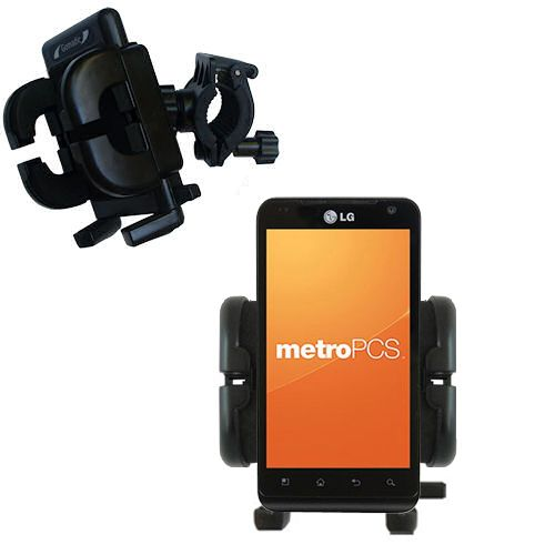 Handlebar Holder compatible with the LG MS910