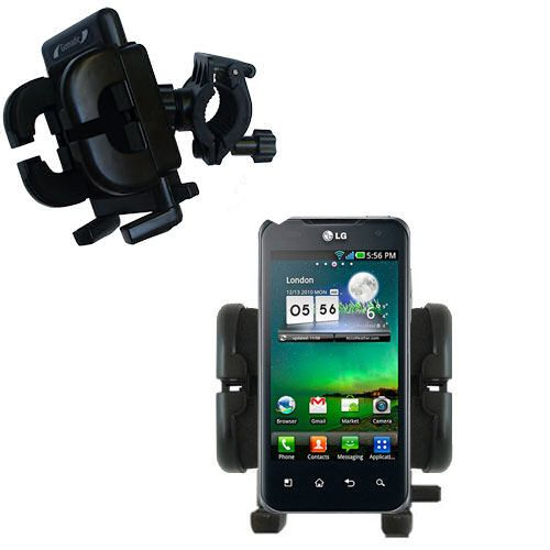 Handlebar Holder compatible with the LG Optimus 2X