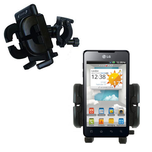 Handlebar Holder compatible with the LG Optimus 3D Cube