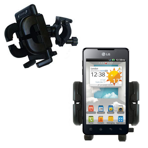 Handlebar Holder compatible with the LG Optimus 3D Max