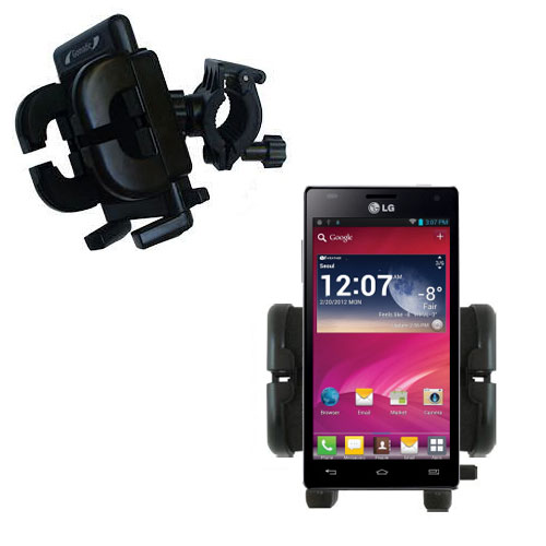 Handlebar Holder compatible with the LG Optimus 4X HD