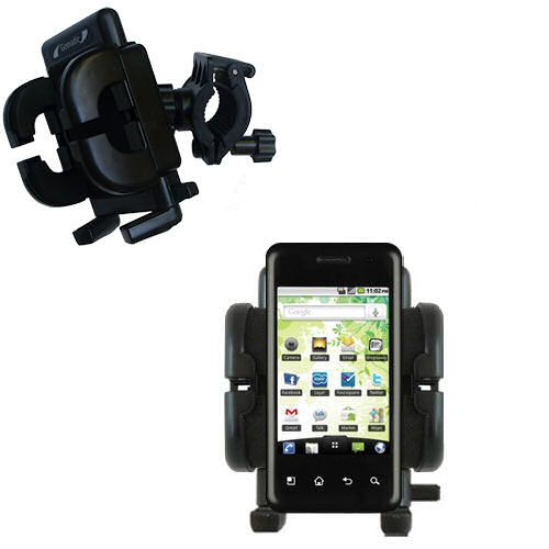 Handlebar Holder compatible with the LG Optimus Chic