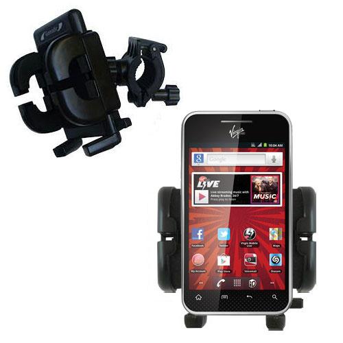 Handlebar Holder compatible with the LG Optimus Elite