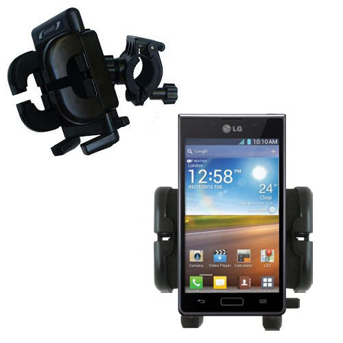 Handlebar Holder compatible with the LG Optimus L5