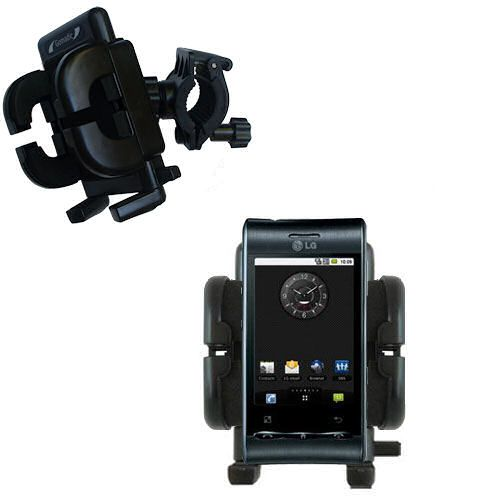 Handlebar Holder compatible with the LG Optimus S