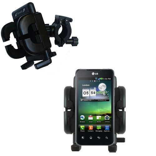 Handlebar Holder compatible with the LG Optimus Two