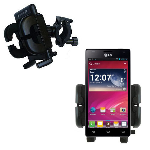 Handlebar Holder compatible with the LG P880