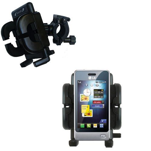 Handlebar Holder compatible with the LG Pop GD510