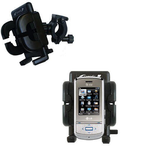 Handlebar Holder compatible with the LG Shine II GD710