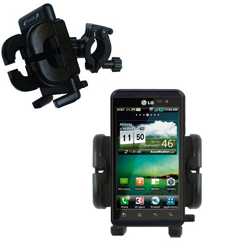 Handlebar Holder compatible with the LG Thrill 4G
